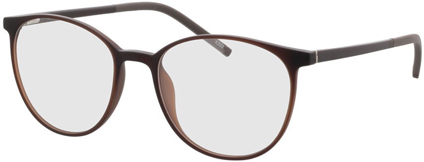 Picture of glasses model Conroe mat bruin in angle 330