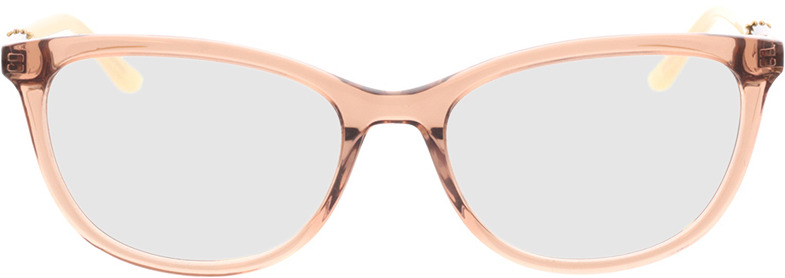 Picture of glasses model Chloe-transparent braun in angle 0
