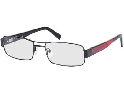 Brille Toropez-schwarz/rot