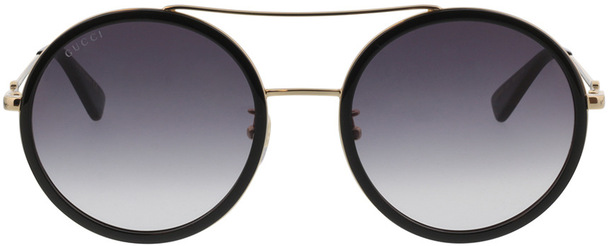 Picture of glasses model Gucci GG0061S-001 56-22 in angle 0