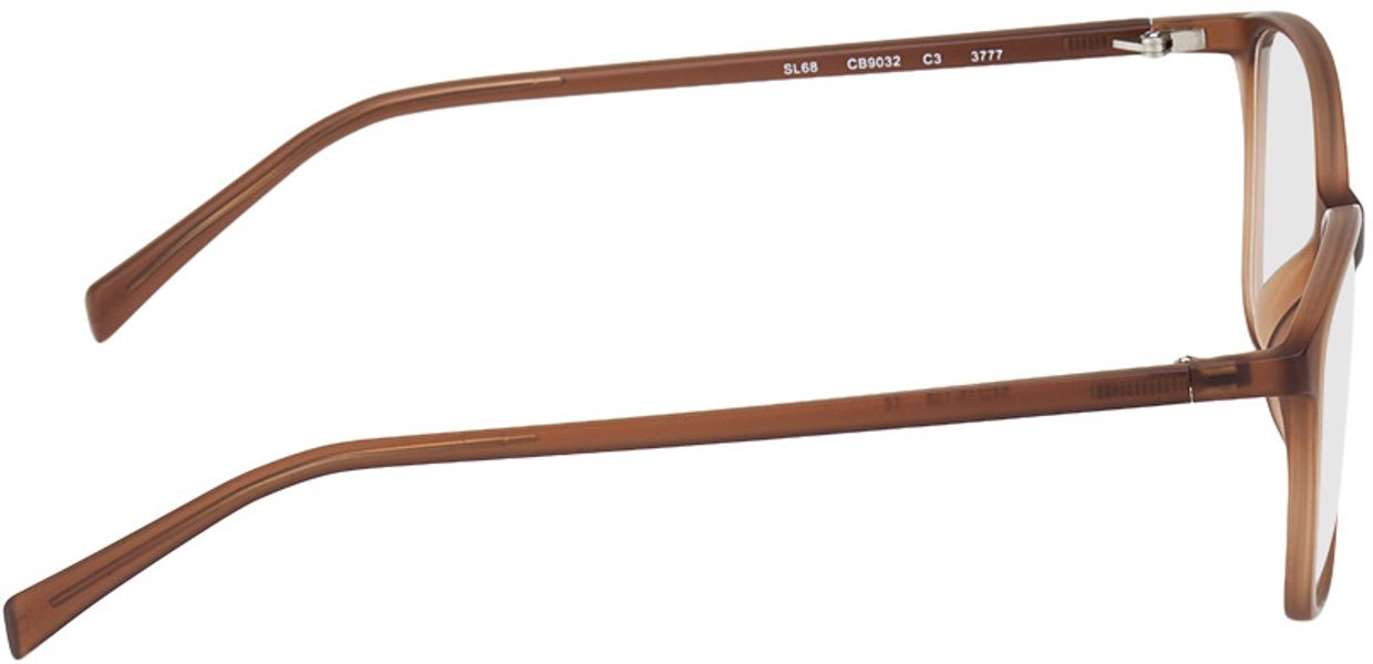 Picture of glasses model Sagres-braun in angle 90