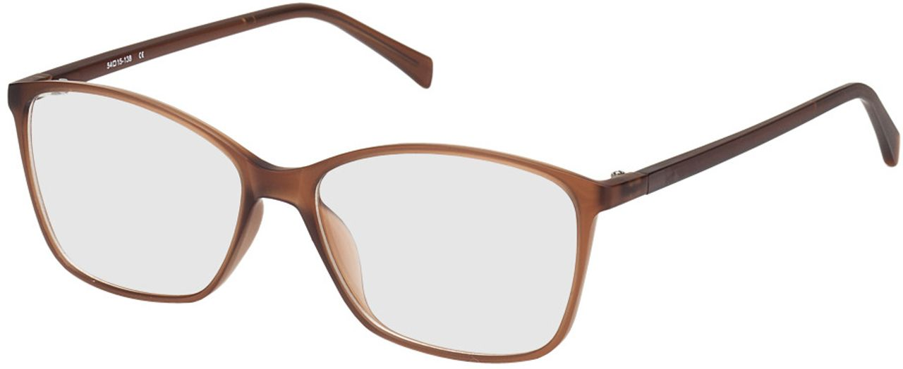 Picture of glasses model Sagres-braun in angle 330