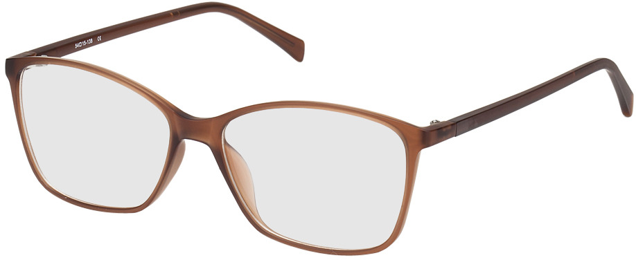Picture of glasses model Sagres bruin in angle 330