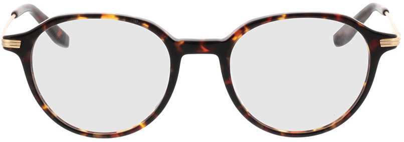 Picture of glasses model Piero-braun-meliert/gold in angle 0