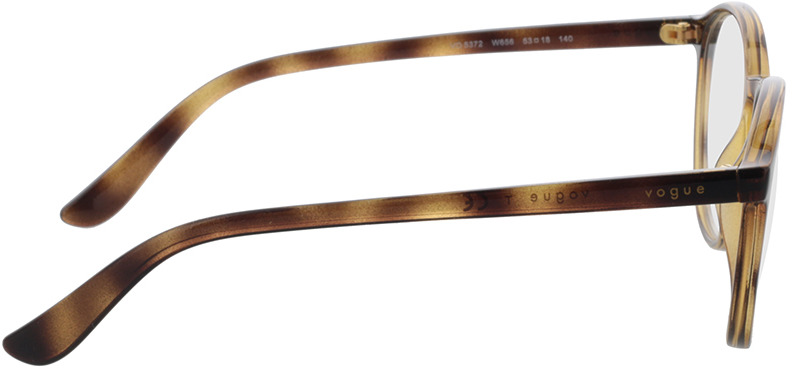 Picture of glasses model Vogue VO5372 W656 53-18 in angle 90