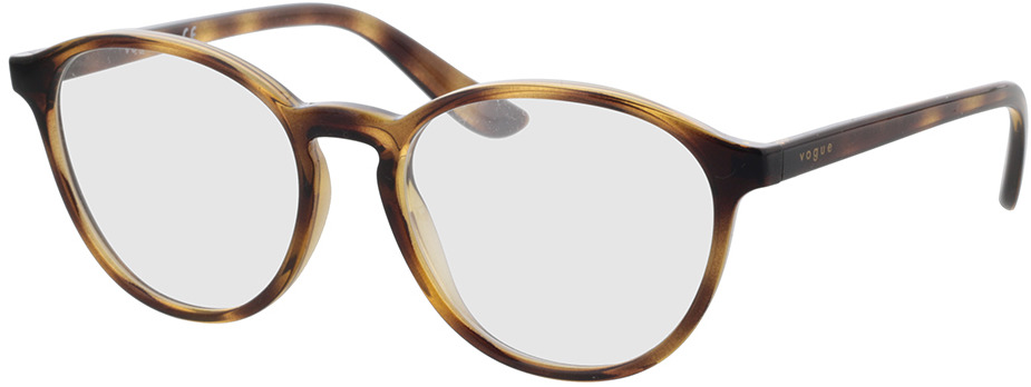 Picture of glasses model Vogue VO5372 W656 53-18 in angle 330