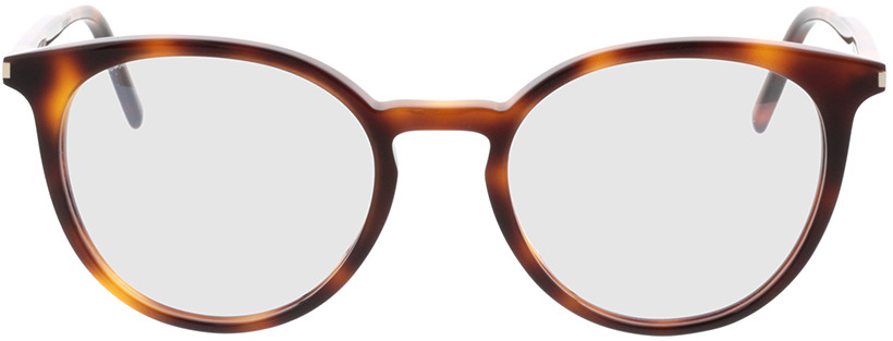 Picture of glasses model Saint Laurent SL 238/F-002 52-20 in angle 0