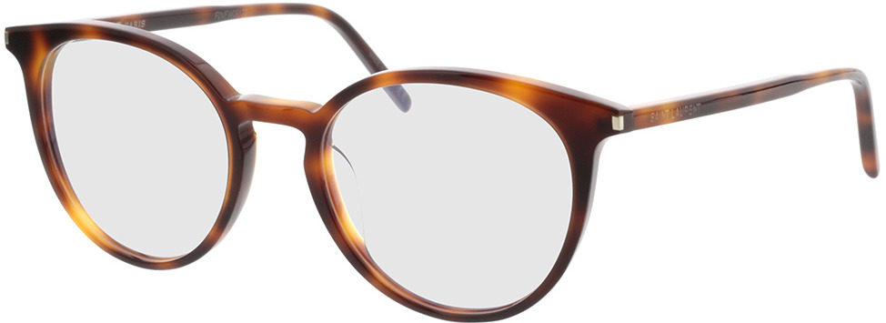 Picture of glasses model Saint Laurent SL 238/F-002 52-20 in angle 330