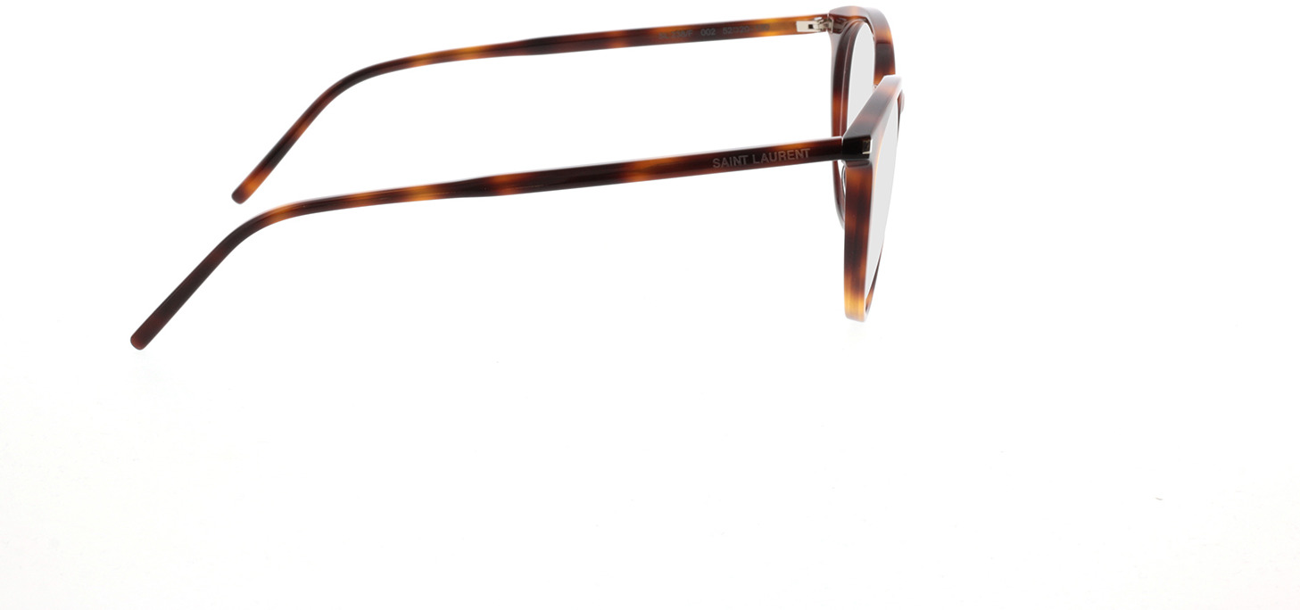 Picture of glasses model Saint Laurent SL 238/F-002 52-20 in angle 90