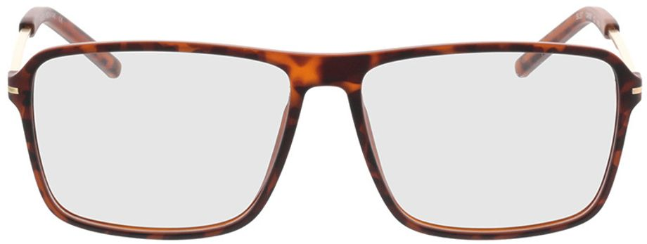 Picture of glasses model Watts-braun-meliert/gold in angle 0