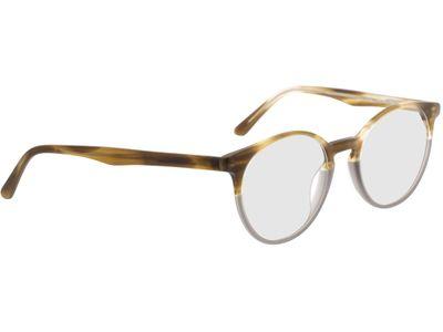 Brille Siderno-gelb-meliert/grau