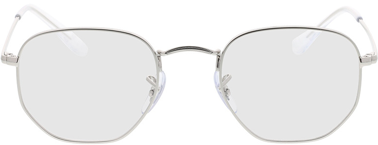 Picture of glasses model Ray-Ban Hexagonal RX6448 2501 48-21 in angle 0