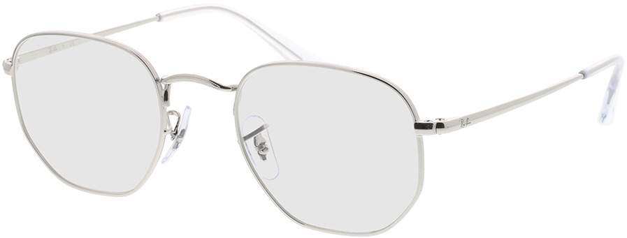 Picture of glasses model Ray-Ban Hexagonal RX6448 2501 48-21 in angle 330