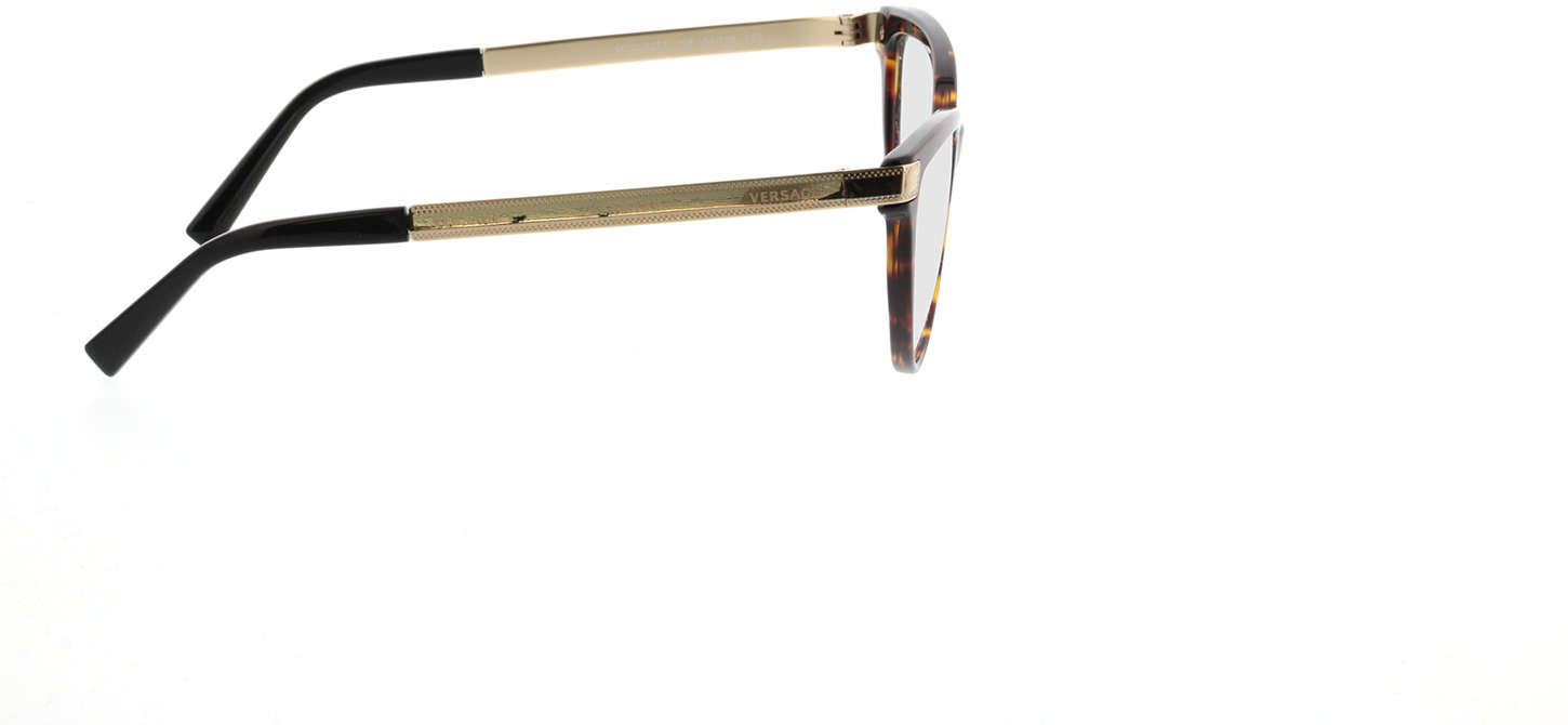 Picture of glasses model Versace VE3271 108 54-16 in angle 90