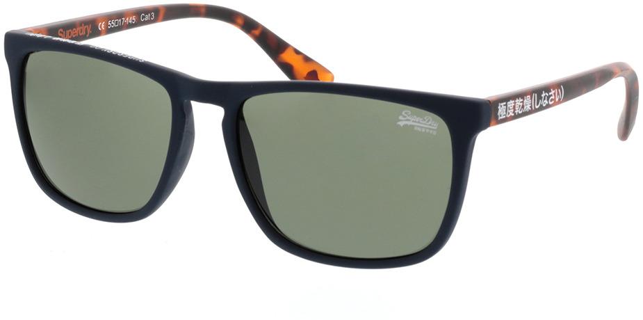 Picture of glasses model Superdry SDS Shockwave 106 blau/havanna 55-17 in angle 330