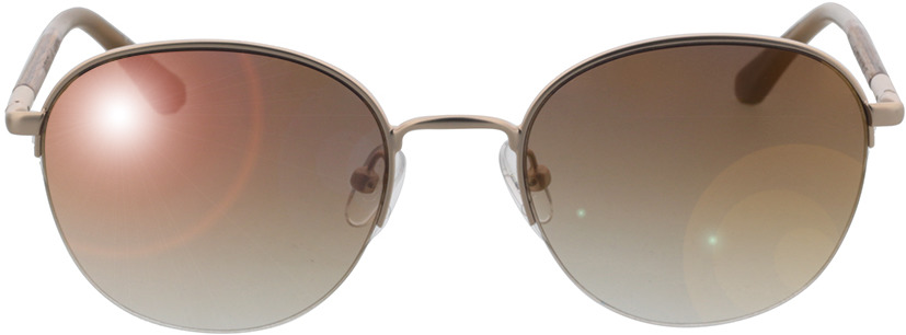 Picture of glasses model Wood Fellas Sunglasses Horizon macassar/gold 52-20 in angle 0