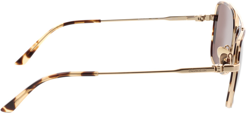 Picture of glasses model Calvin Klein CK38103 244 55-18 in angle 90