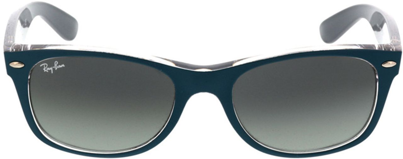 Picture of glasses model Ray-Ban New Wayfarer RB2132 619171 52-18 in angle 0