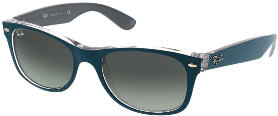 Picture of glasses model Ray-Ban New Wayfarer RB2132 619171 52-18 in angle 330