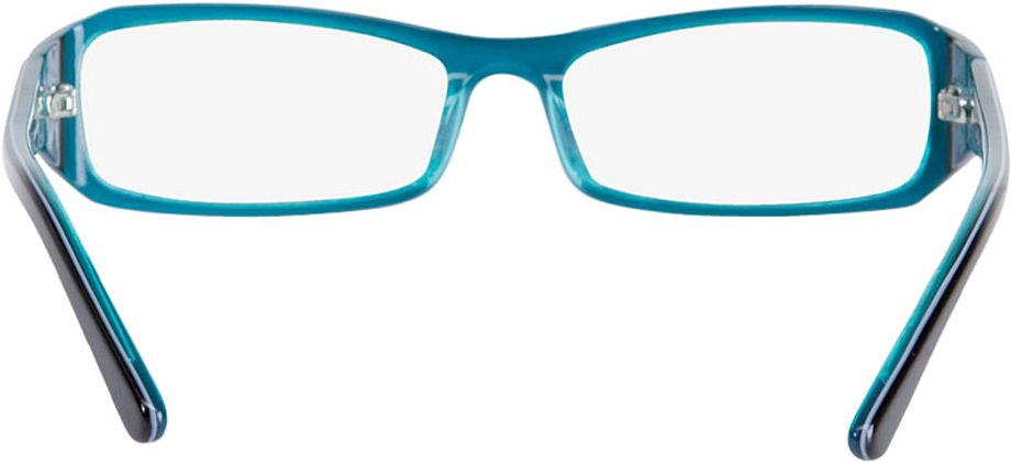 Picture of glasses model Girona-black-turquoise in angle 180
