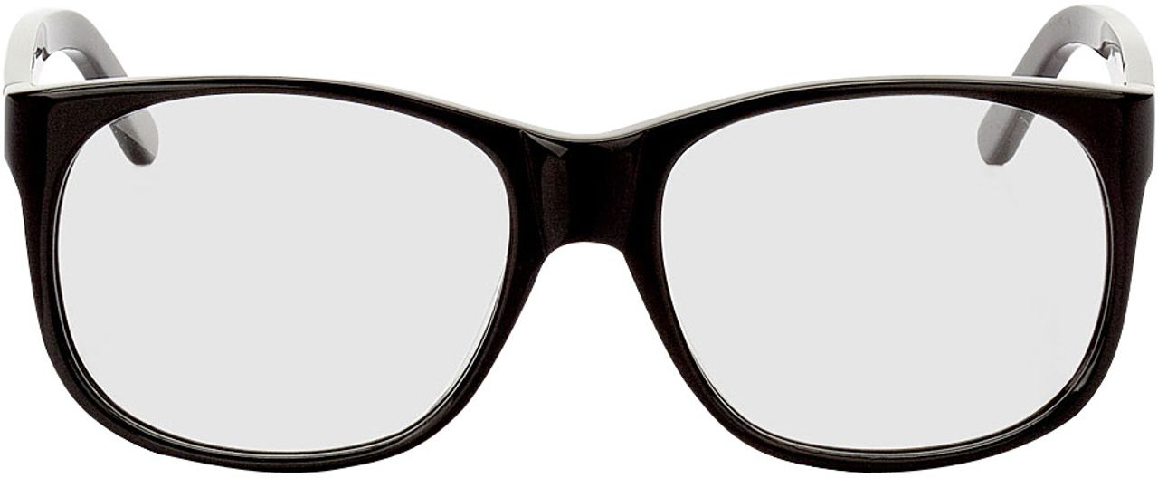 Picture of glasses model Newcastle black in angle 0