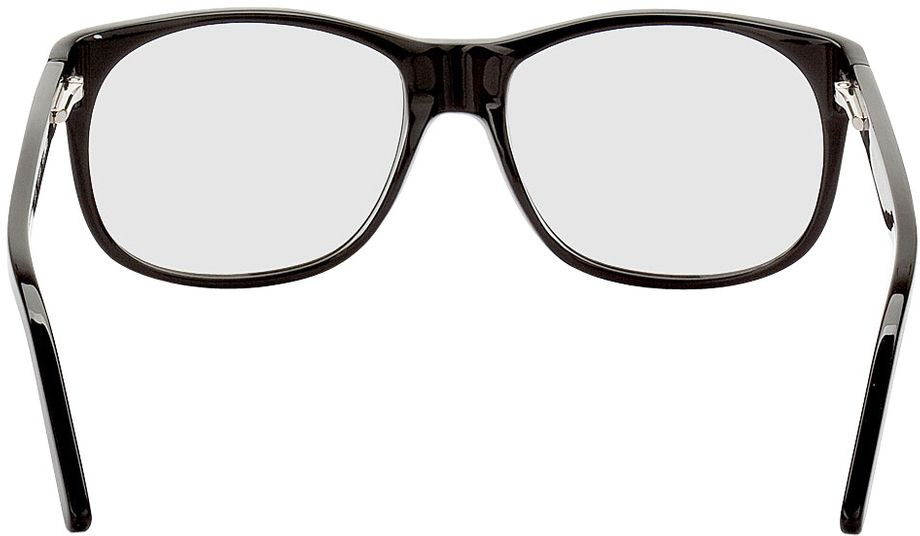 Picture of glasses model Newcastle-black in angle 180