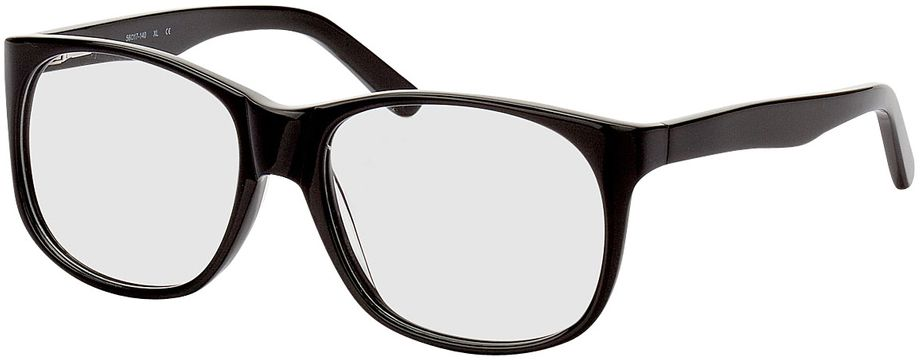 Picture of glasses model Newcastle-black in angle 330