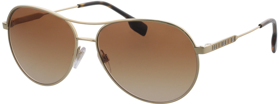 Picture of glasses model Burberry BE3122 110913 59-14 in angle 330