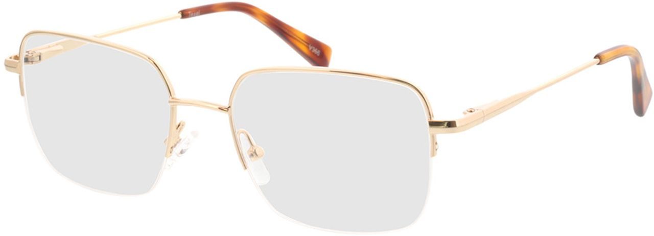 Picture of glasses model Texel-gold in angle 330