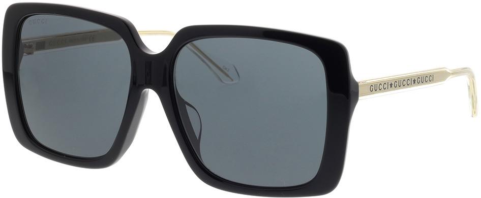 Picture of glasses model Gucci GG0567SA-001 58-16