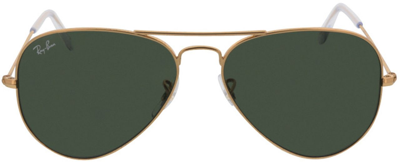 Picture of glasses model Ray-Ban Aviator RB3025 W3234 55-14 in angle 0