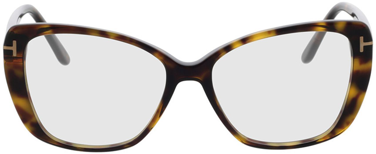 Picture of glasses model Tom Ford FT5744-B 052 54-15 in angle 0