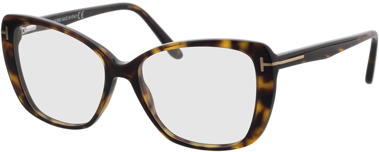 Picture of glasses model Tom Ford FT5744-B 052 54-15 in angle 330