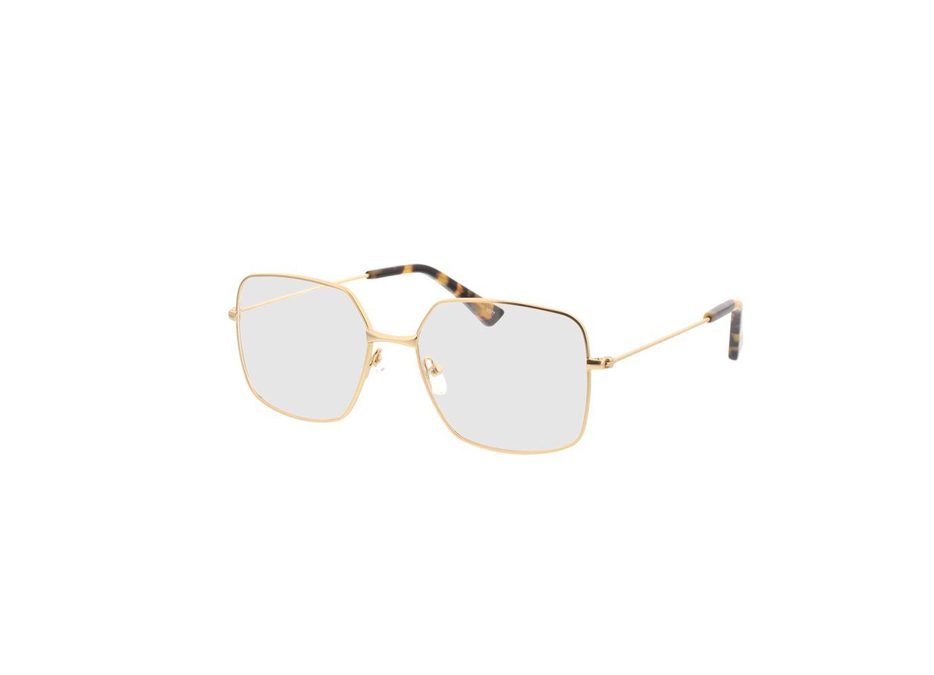 4250325293243-singlevision-0000 Nox-gold Gleitsichtbrille, Vollrand, Eckig OMNIO by Brille24
