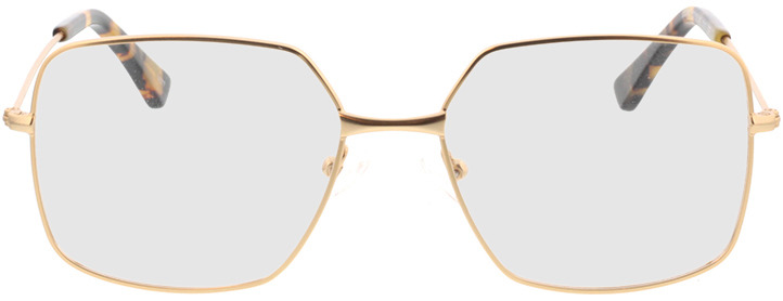 Picture of glasses model Nox-gold in angle 0