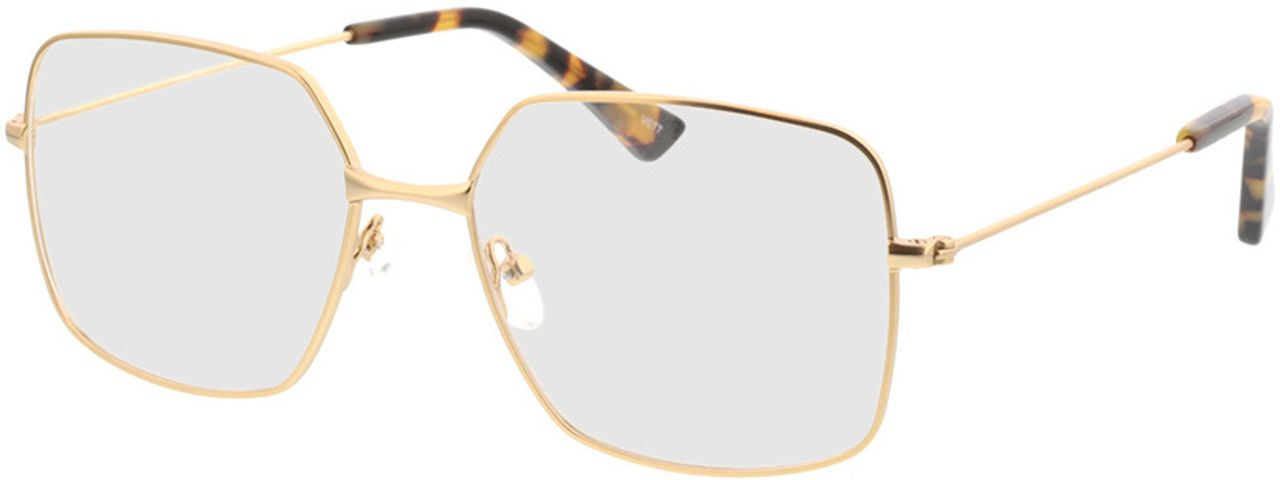 Picture of glasses model Nox-gold in angle 330