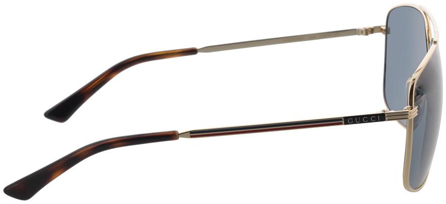 Picture of glasses model Gucci GG0836SK-004 63-14 in angle 90