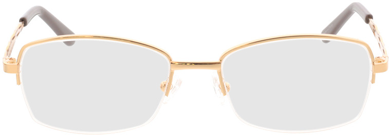 Picture of glasses model Solita-gold in angle 0