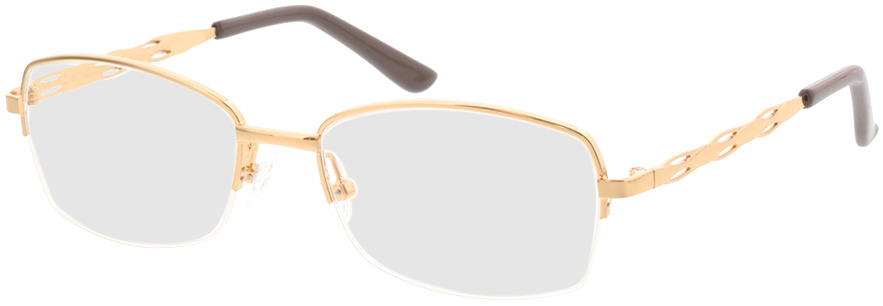 Picture of glasses model Solita-gold in angle 330