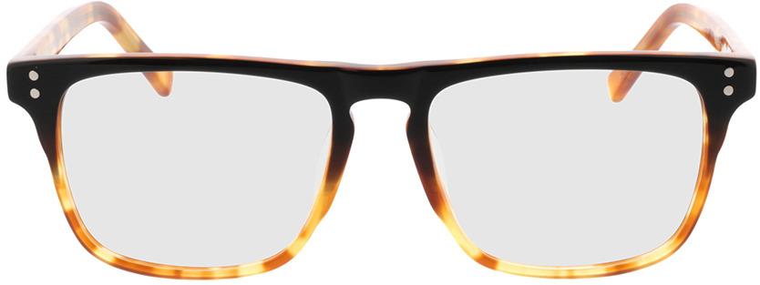 Picture of glasses model Lavis Zwart/havana in angle 0