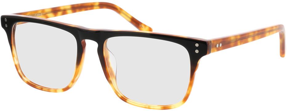 Picture of glasses model Lavis Zwart/havana in angle 330