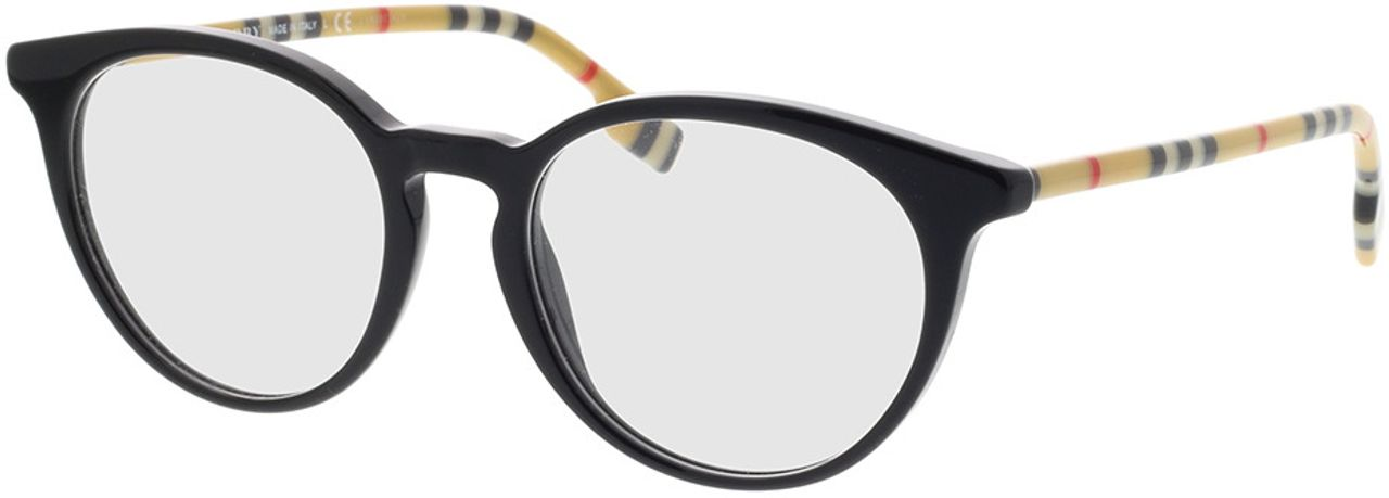 Picture of glasses model Burberry BE2318 3853 51-18 in angle 330
