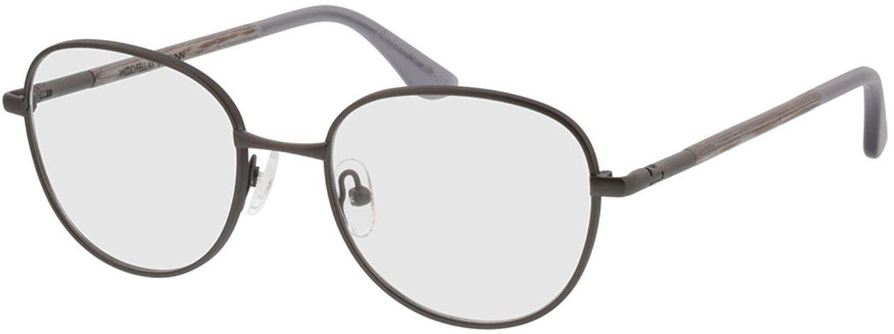 Picture of glasses model Wood Fellas Optical Prunn chalk oak 49-18 in angle 330