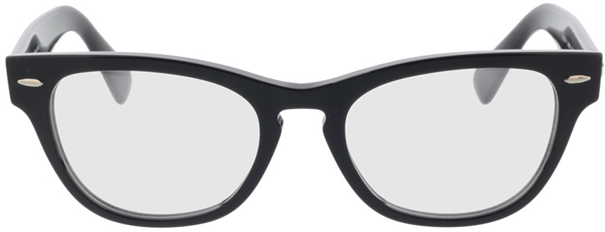 Picture of glasses model Ray-Ban RX2201V 2000 54-20 in angle 0