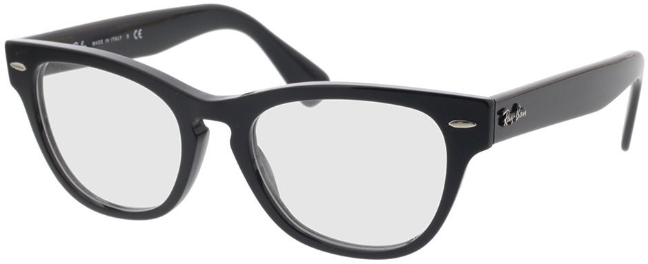 Picture of glasses model Ray-Ban RX2201V 2000 54-20 in angle 330