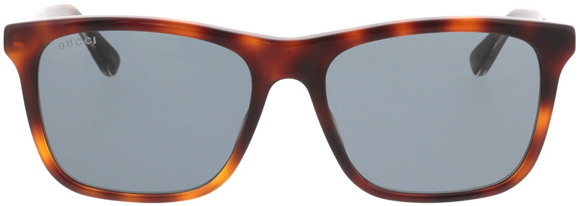 Picture of glasses model Gucci GG0381S-009 57-18 in angle 0