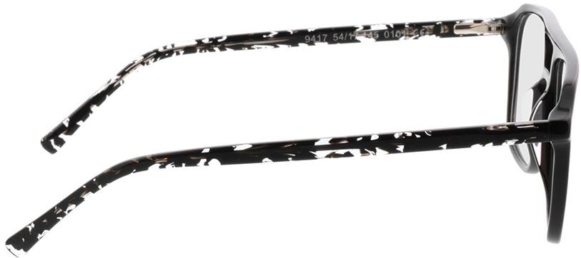 Picture of glasses model Costa-schwarz/gefleckt schwarz transparent in angle 90
