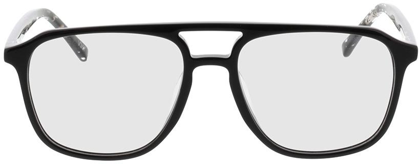 Picture of glasses model Costa-schwarz/gefleckt schwarz transparent in angle 0