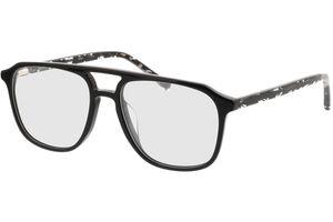 Costa-schwarz/gefleckt schwarz transparent
