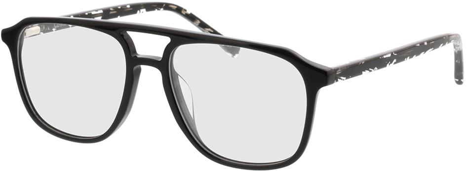 Picture of glasses model Costa-schwarz/gefleckt schwarz transparent in angle 330